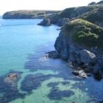 De kust van Belle Ile en Mer