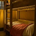 Safaritent Slaapkamer met Stapelbed van Glamping4all