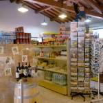 De supermarkt op Camping Barco Reale