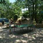 Tafeltennis op Camping Barco Reale
