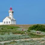 Het kerkje op eiland Belle Ile en Mer