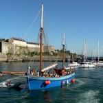 De citadel van het eiland Belle Ile en Mer voor de kust van Bretagne