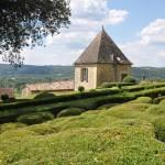Tuinen van Kasteel Marqueyssac in Dordogne