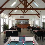 Het restaurant van camping Le Kernest op Belle Ile en Mer