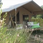 Safaritent met terras bij Eco lodge van Glamping4all