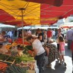 Groentemarkt in Bergerac