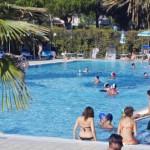 Het zwembad op Camping Malibu Beach