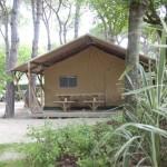 Safaritenten op Camping Malibu Beach