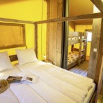 Camping Le Plein Air des Chenes de Safaritent de ouderslaapkamer