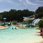 Camping Le Plein Air des Chenes Zwembad met Waterglijbanen
