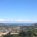 Het uitzicht van Villa La Diva