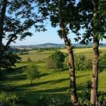 Prachtig uitzicht van af terras safaritent van Glamping4all