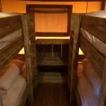 Slaapkamer Safaritent Stapelbedden
