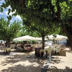Camping Cypsela het Restaurant aan de Costa Brava
