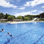 Zwembad van Camping Cypsela Costa Brava