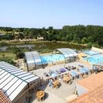 Campingplatz La Bretonnière Übersicht Schwimmbäder