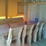 Safaritent Eettafel van Glamping4all
