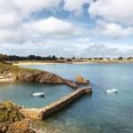 Vendée der Hafen von Yeu de la Meule