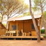 Safarilodge op Camping Punta Milà