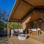 Safaritent 4 personen op Camping Capalbio