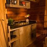 Safaritent met vide - de keuken van Glamping4all