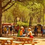 Kinderen bij tafeltennis en speeltuin op Punta Milà