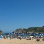 Stranden van Cala Montgo