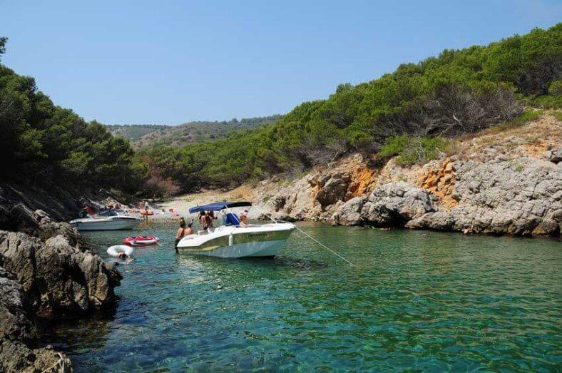 Schitterende baaien aan de kust van de Costa Brava