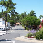 Les Pins centrum dorpje