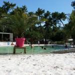 Les Pins zwembad overzicht