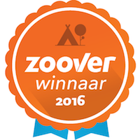 Glamping4all wint Zoover award