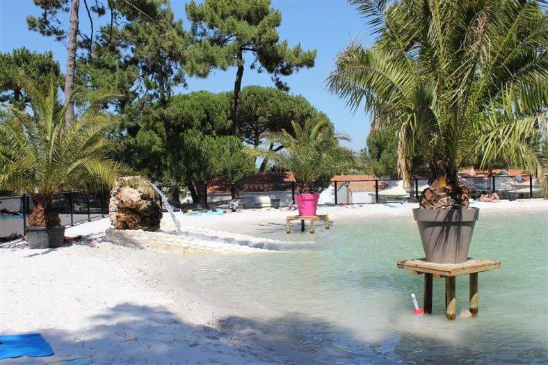Zwembad van camping Les Pins