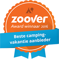 Zoover Award beste Campingvakantieaanbieder 2016