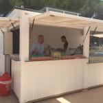 Openingfeest nieuwe kinderzwembad op Cypsela