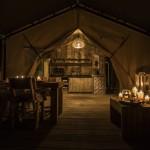 Tenuta Poggiorosso Safaritent sfeer 's avonds