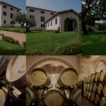 Tenuta Poggiorosso landhuis en wijnvaten