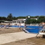Camping Cypsela Resort zwembad met duikplanken