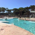 Cypsela zwembad waterpartij
