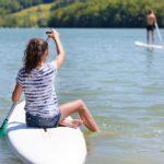 Dordogne Lac du Causse sup paddling