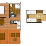 Safari Lodge met verdieping les Blimouses