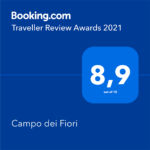 Booking.com Traveller Review Award Campo dei Fiori 2021