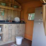 Tenuta Costa da Sole safaritent keuken