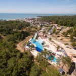 Soulac Plage overzicht foto camping