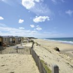 Soulac Plage strand bij camping