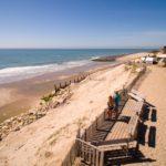 Soulac Plage strand bij de camping