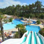 Soulac Plage zwembad met glijbanen