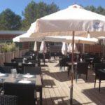Soustons Village restaurant panoramafoto