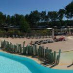 Soustons Village zwembad panoramafoto