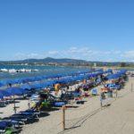 Strand bij Vada Tesorino ligt op 800 m van de glamping