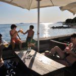 Vestar restaurant aan strand